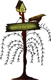 Wren in the Willow Logo