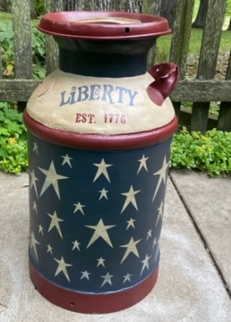Americana Milk Can with one handle